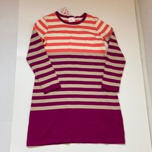 NWT Hanna Andersson striped sweater dress C-46